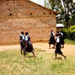 The Water Project: Khabukoshe Primary School -  Students On Campus