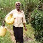 The Water Project: Musango Community, Emufutu Spring -  Heading To The Spring