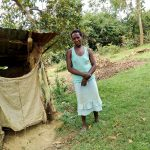 The Water Project: Mukhuyu Community, Kwawanzala Spring -  A Community Members By Her Mud Latrine
