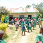 The Water Project: Elufafwa Community School -  Outside Classrooms