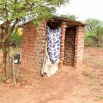The Water Project: Kathamba Ngii Community -  Latrine