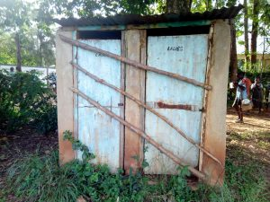 The Water Project:  Latrines No Longer In Use