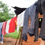 The Water Project: Muluti Community -  Clothesline