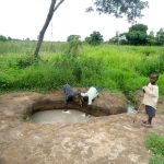 The Water Project: Karagalya Kawanga Community -  Children Fetching Water
