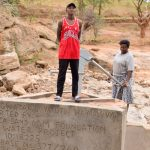 The Water Project: Maluvyu Community E -  Finished Well