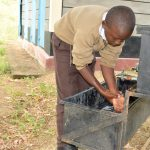 The Water Project: Kithoni Secondary School -  Handwashing Station