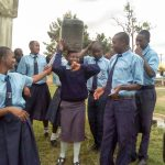 The Water Project: Musango Mixed Secondary School -  Fetching Water