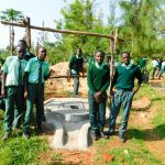 The Water Project: Esibila Secondary School -  Dry Well