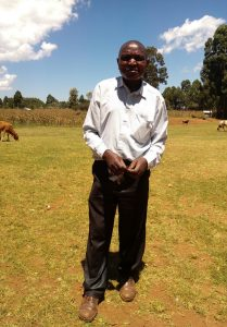The Water Project:  Deputy Headteacher Protus Silali