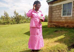 The Water Project:  Headteacher Carolyne Musonye
