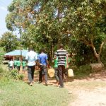 The Water Project: Chebunaywa Secondary School -  Going To Fetch Water