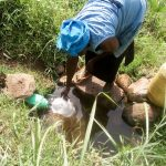 The Water Project: Musango Community, Mushikhulu Spring -  Fetching Water