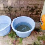 The Water Project: Mukhuyu Community, Kwakhalakayi Spring -  Water Containers