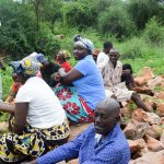 The Water Project: Kithoni Community A -  Group Members Learning About The Project