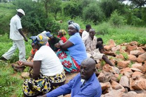 The Water Project:  Group Members Learning About The Project