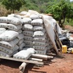 The Water Project: Kyetonye Community -  Bags Of Cement