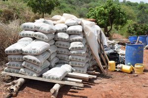 The Water Project:  Bags Of Cement