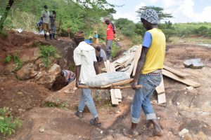 The Water Project:  Carrying Bag Of Cement