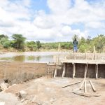 The Water Project: Kithuluni Community B -  Rains Delayed The Dam Construction Process