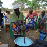 The Water Project: Kithuluni Community B -  Soap Making