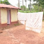 The Water Project: Ivumbu Community A -  Blankets Hang To Dry On The Clothesline