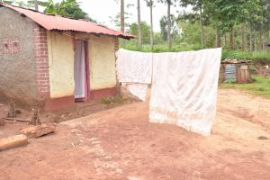 The Water Project:  Blankets Hang To Dry On The Clothesline