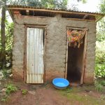 The Water Project: Ivumbu Community A -  Latrine And Bathing Room