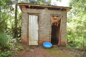 The Water Project:  Latrine And Bathing Room