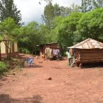 The Water Project: Ivumbu Community A -  People Chat In Household Compound