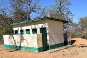 The Water Project:  Girls Latrines Block Two