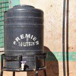 The Water Project: Kakunike Primary School -  Handwashing Station