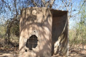 The Water Project:  Old Latrines