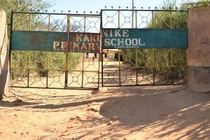 The Water Project:  School Grounds Entrance