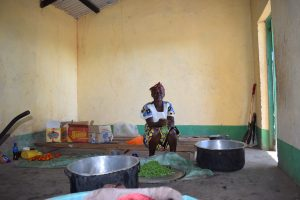 The Water Project:  School Kitchen And Cook