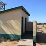 The Water Project: Kakunike Primary School -  Staff Latrines