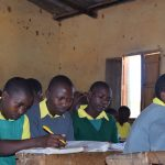 The Water Project: Kakunike Primary School -  Studying
