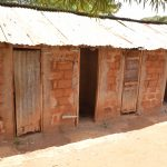 The Water Project: Maviaume Primary School -  Girls Latrines