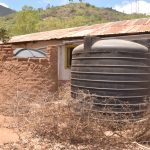 The Water Project: Maviaume Primary School -  Plastic Rainwater Tanks