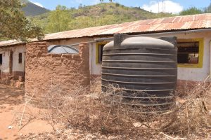 The Water Project:  Plastic Rainwater Tanks