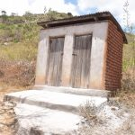 The Water Project: Maviaume Primary School -  Staff Latrines