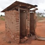The Water Project: Murwana Primary School -  Boys Latrines