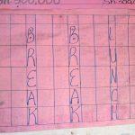 The Water Project: Murwana Primary School -  School Schedule