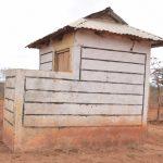 The Water Project: Murwana Primary School -  Staff Latrines