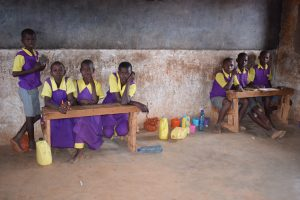 The Water Project:  Students In The Back Of Class