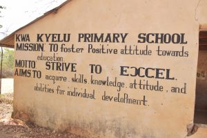 The Water Project:  School Mission And Motto
