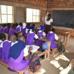 The Water Project: Kwa Kyelu Primary School -  Teacher Conducts Class