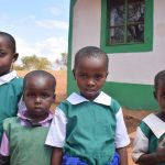 The Water Project: Kyandoa Primary School -  Four Girls