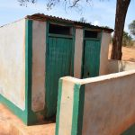 The Water Project: Kyandoa Primary School -  Girls Latrines