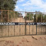 The Water Project: Kyandoa Primary School -  School Gate