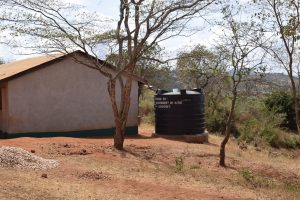 The Water Project:  Small Rainwater Harvesting Tank